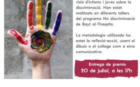 """Exposició de dibuixos """"Missatges antidiscriminatoris"""""""